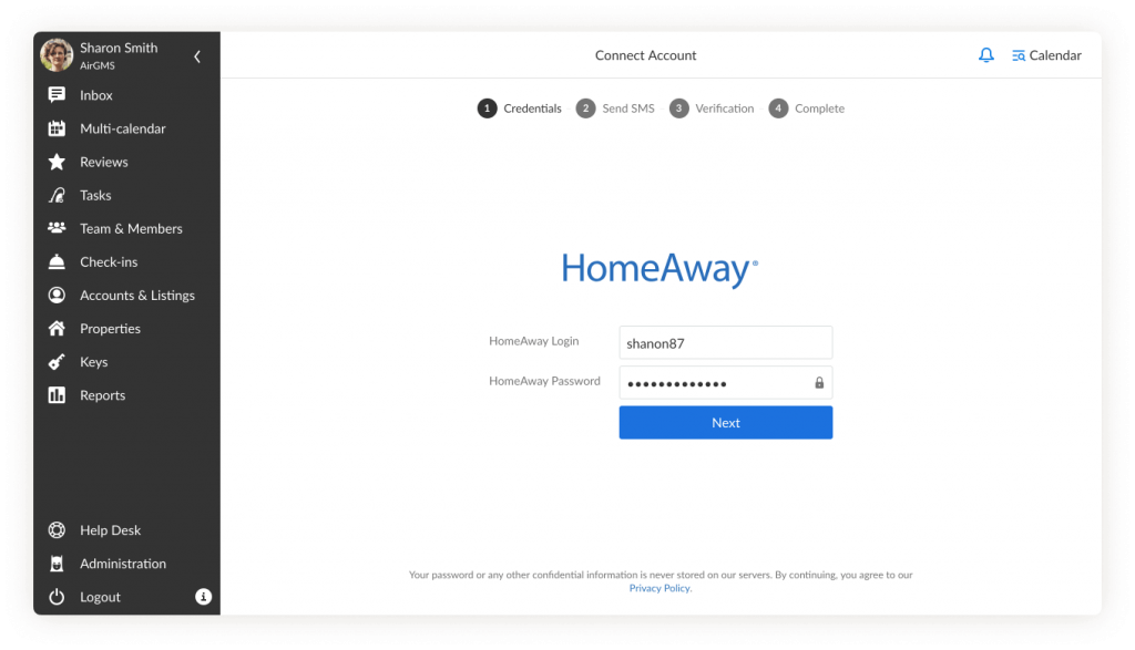 Vrbo and HomeAway Account Integration | iGMS Help Desk