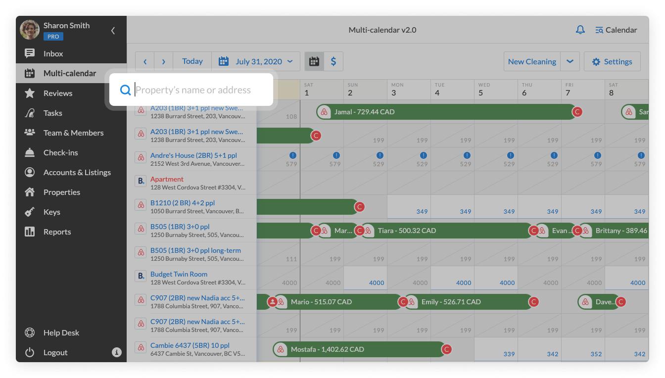 Multi-calendar 2.0 specific property