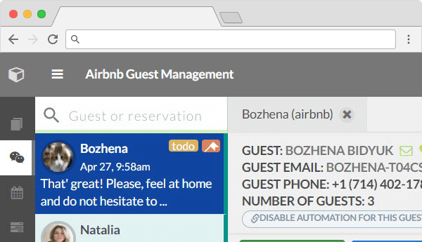 Airbnb Management innovative features
