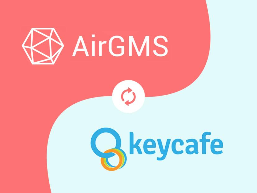 Airbnb key exchange by AirGMS