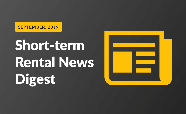 short term rental news