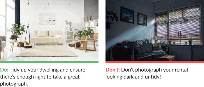 Airbnb photos tips