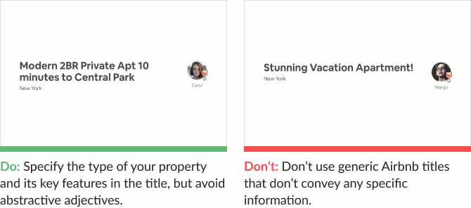 best Airbnb listings strategies
