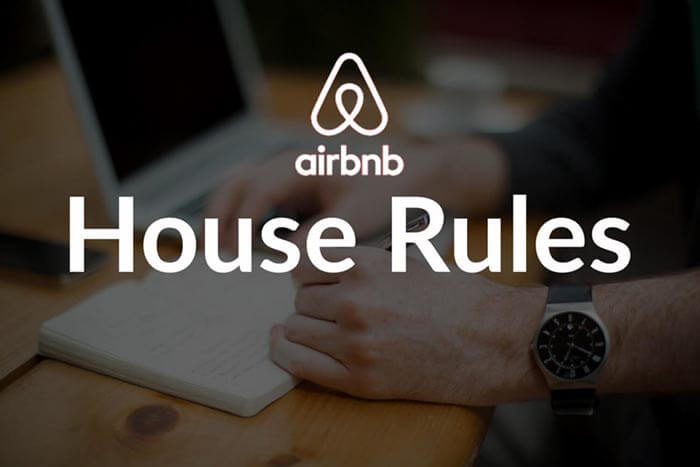 Airbnb house rules examples