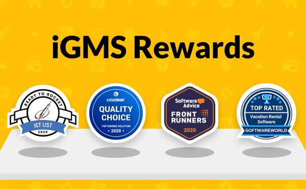 Boom! iGMS Gets 4 Awards in a Row in 2020