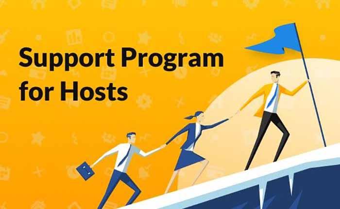 Support Program for hosts
