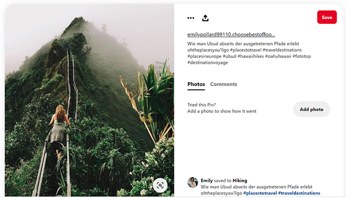 use Pinterest to Promote Your Airbnb: Hashtags