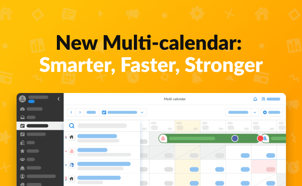 The New iGMS Multi-calendar