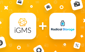 iGMS & Radical Storage, Luggage Storage Network, Team Up