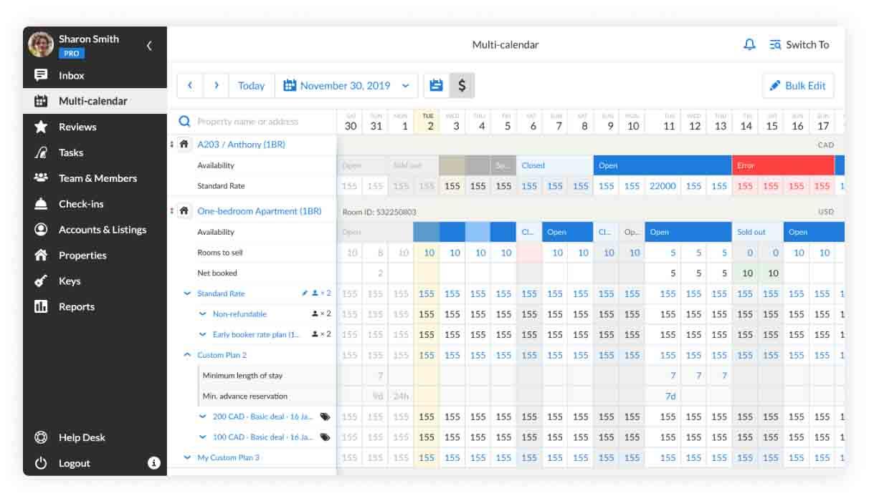 Booking.com rates management