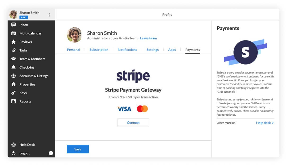 Booking.com payment processing