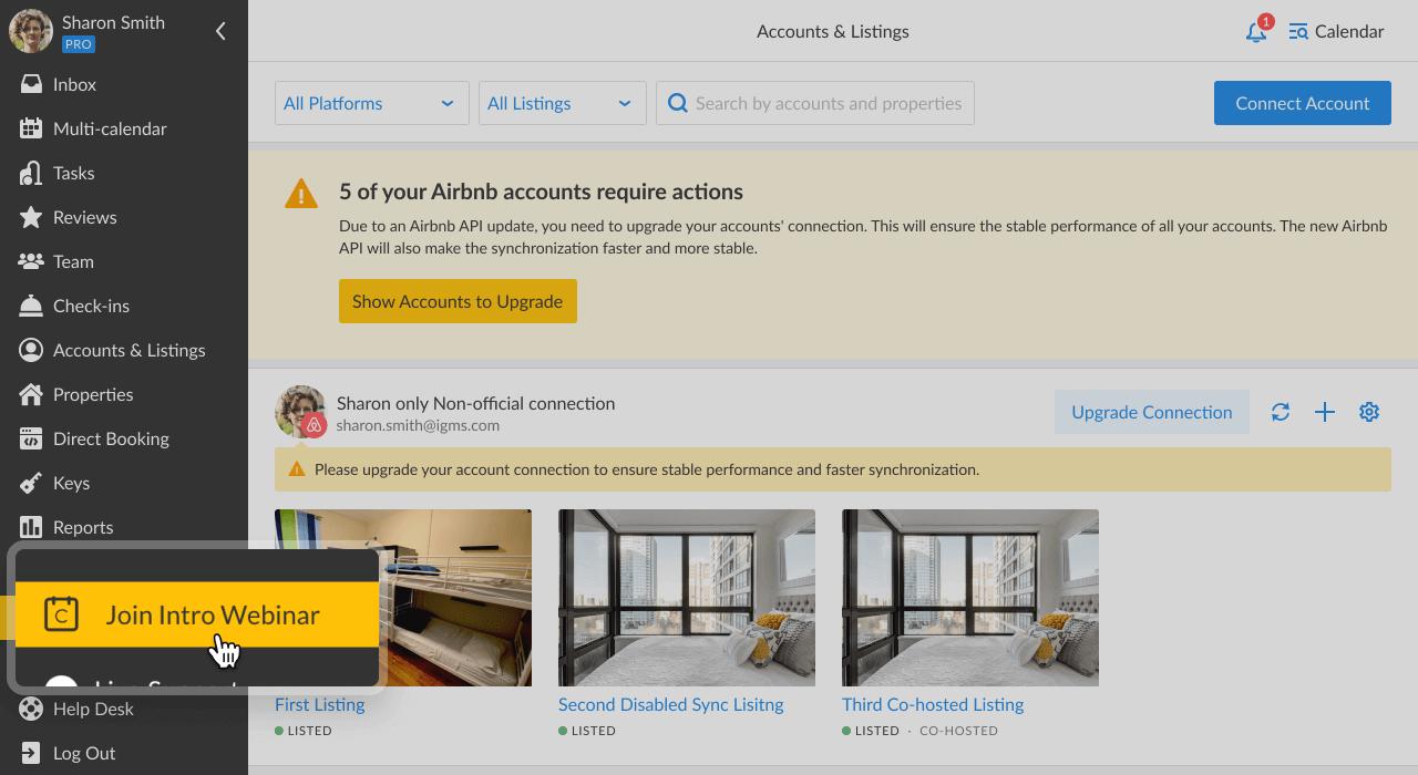 iGMS Accounts & Listings Join Intro Webinar