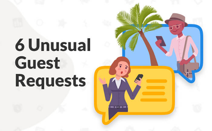 Guest requests shared by vacation rental hosts