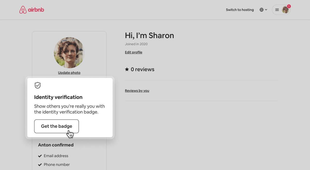 Airbnb ID verification