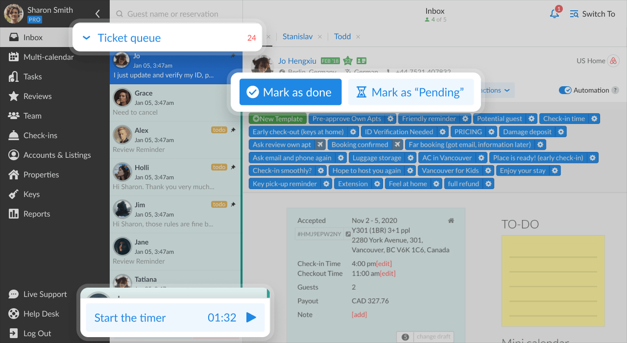 protrack automated ticket assignment