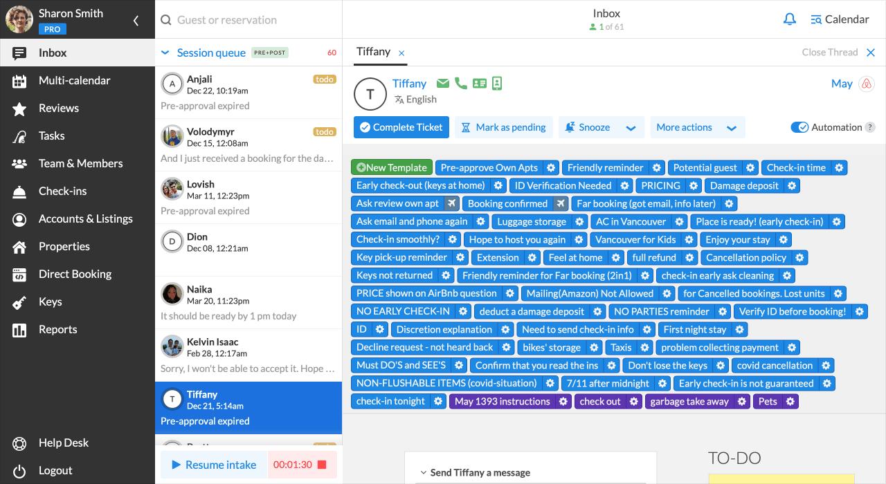 iGMS Inbox PROtrack