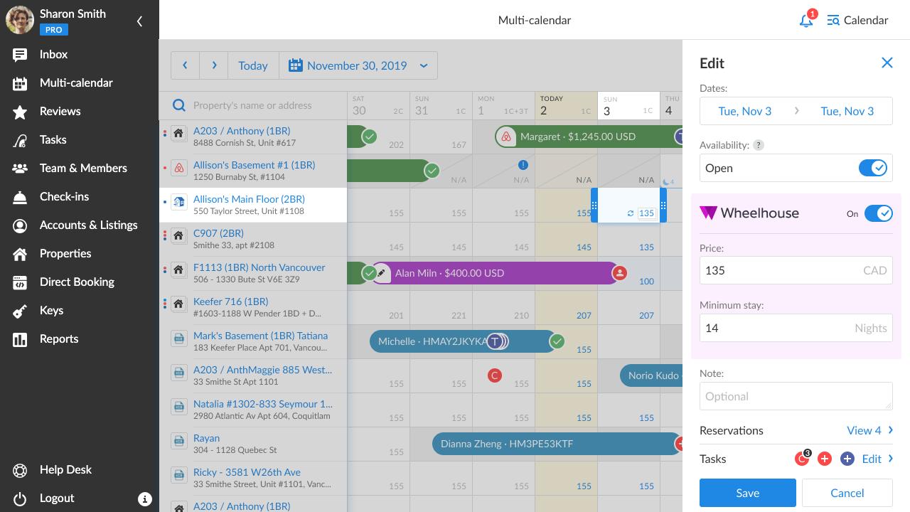 iGMS-Multi-calendar