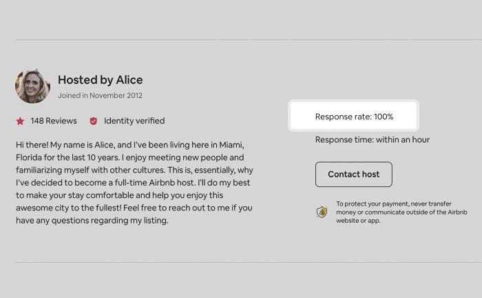 Airbnb dashboard