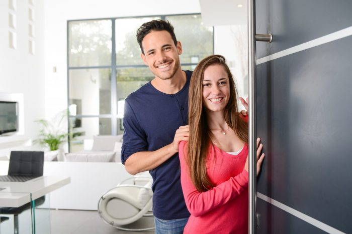 A couple involved in short term rental management